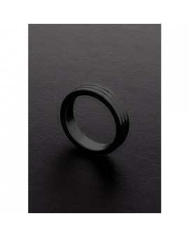 GOLDEN BLACK RIBBED C-RING (10X40MM)