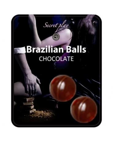 SECRET PLAY SET 2 BRAZILIAN BALLS AROMA CHOCOLATE