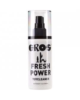 EROS FRESH POWER LIMPIADOR JUGUETES SIN ALCOHOL 125 ML