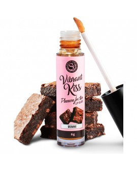 LIP GLOSS VIBRANT KISS - BROWNIE