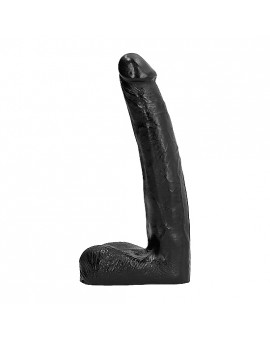 ALL BLACK PENE REALÍSTICO 21CM