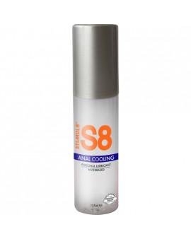 S8 LUBRICANTE ANAL BASE DE AGUA EFECTO FRÍO 125ML