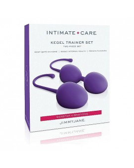 INTIMATE CARE SET DE ENTREMANIENTO KEGEL - MORADO