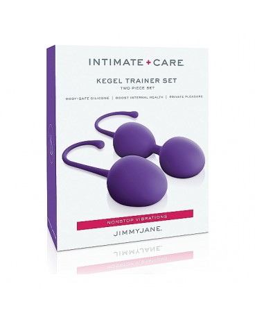 INTIMATE CARE SET DE ENTREMANIENTO KEGEL MORADO