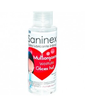 SANINEX GLICEX MULTIORGASMIC WOMAN HOT 4 IN 1 - 100ML